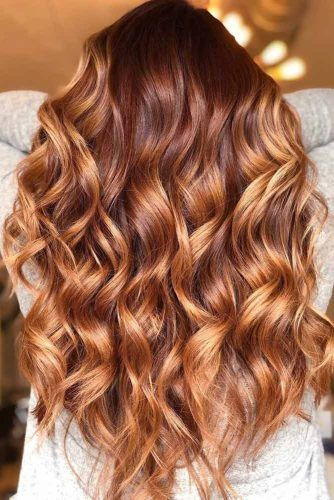 Long Layered Hairstyle With Golden Balayage #layeredhair #longlayeredhair