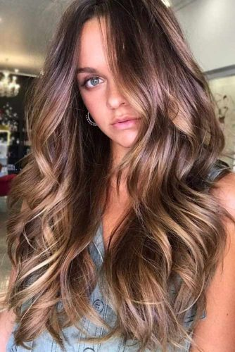 A Signature Hairstyle With Balayage
