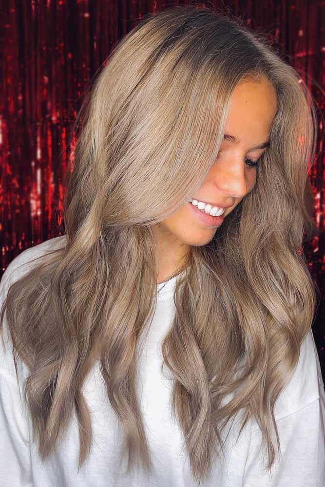 Wheat Blonde Hair Color #longhair #wavyhair #blondehair