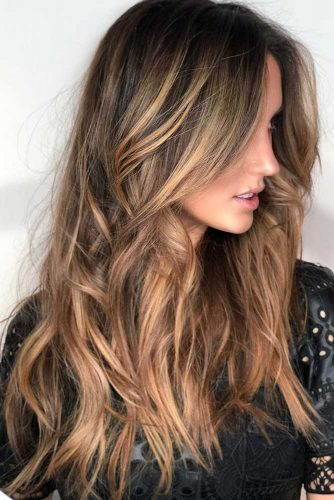Light Brown Hair With Highlights #longhair #wavyhair #highlights #brownhair