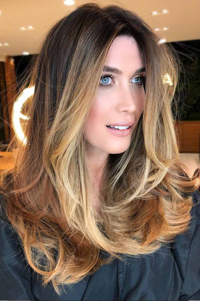 Multidimensional Soft Ombre #longhair #layeredhair #ombre