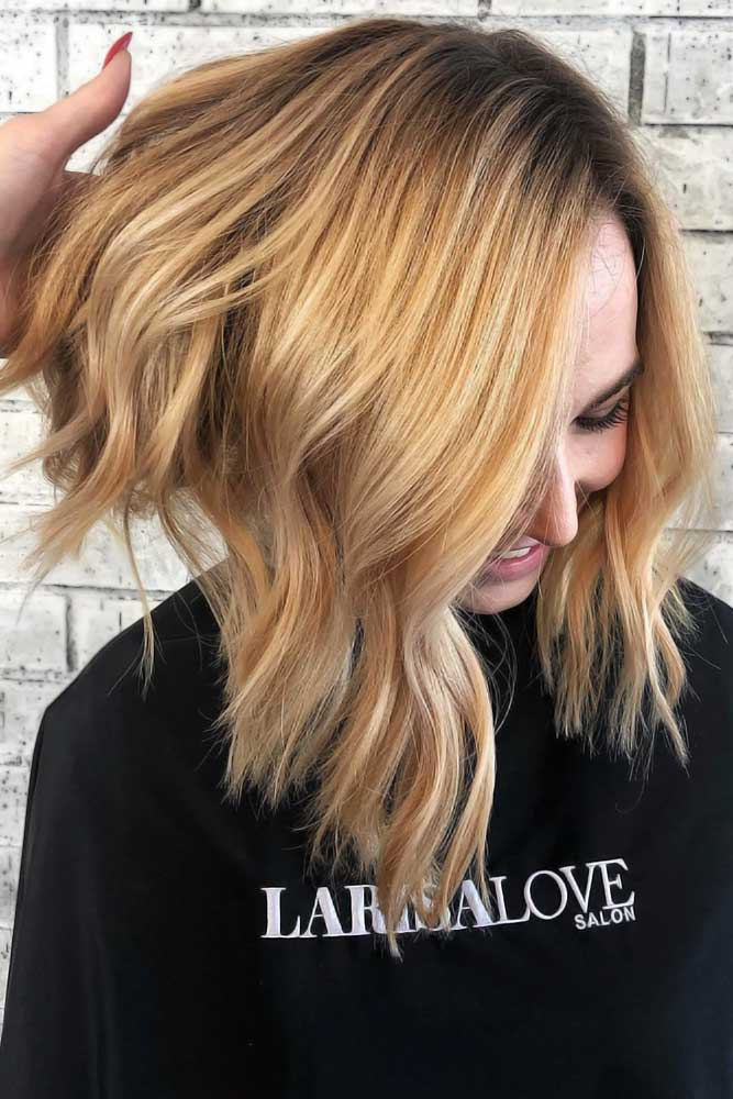 True Gold With Black Roots #summerhaircolors
