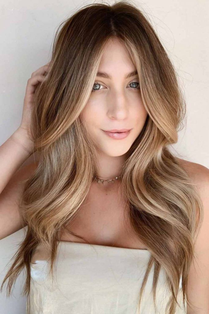 Multidimensional Soft Ombre Waves #summerhaircolors