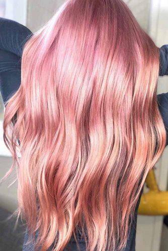Fashionable Millennial Pink #longhair #sleekhair #pinkhair