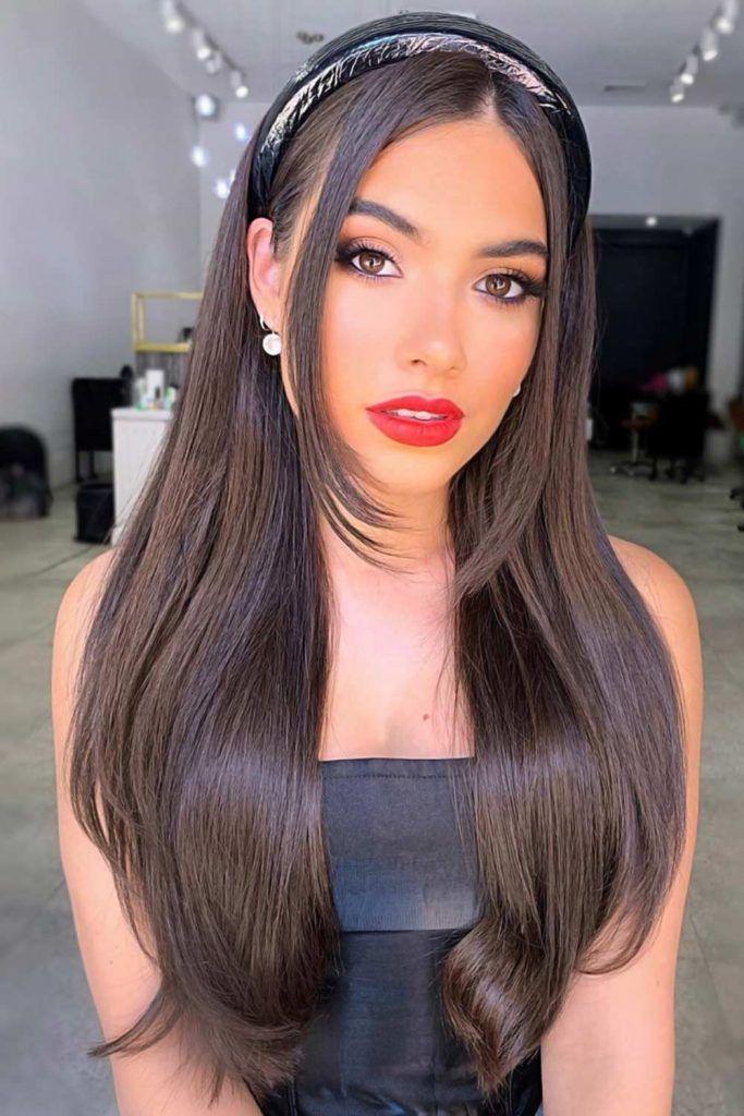 Dark Hair Is A Must Try Sleek #summerhaircolors