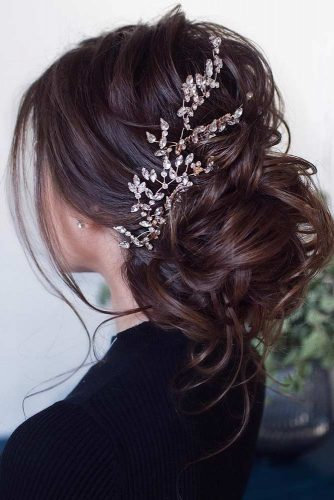 Classic Low Bun #bun #weddinghairstyle