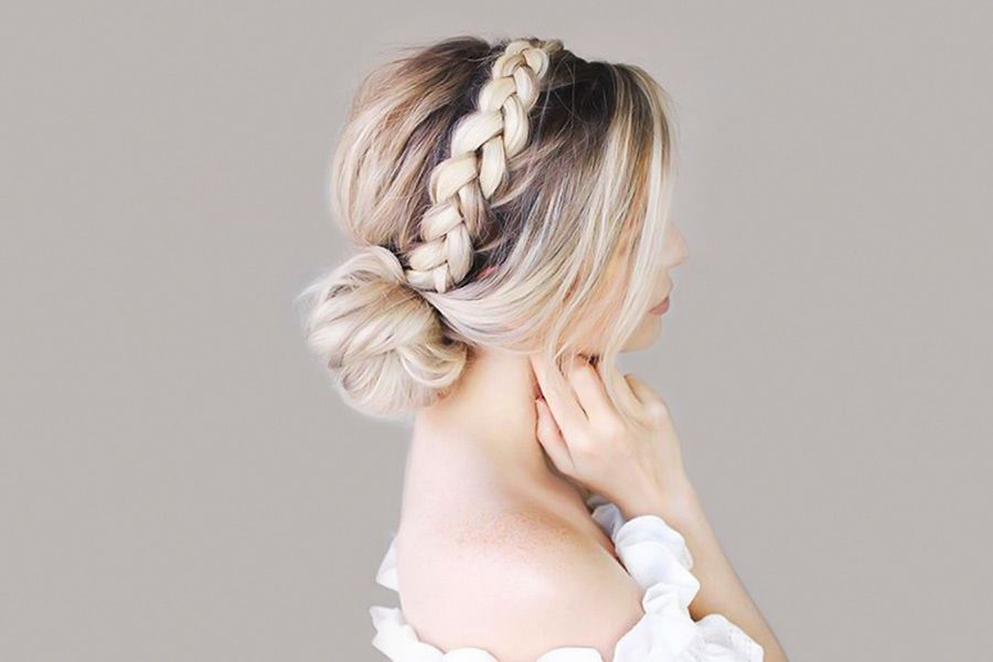 Change Your Image With A Cute Headband Braid