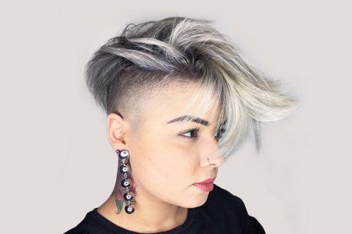 Meet The Feminine Side Of High Fade Haircut