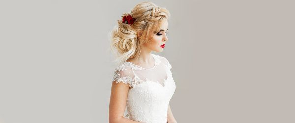 30 Swept Back Wedding Hairstyles For Your Special Bride Look
