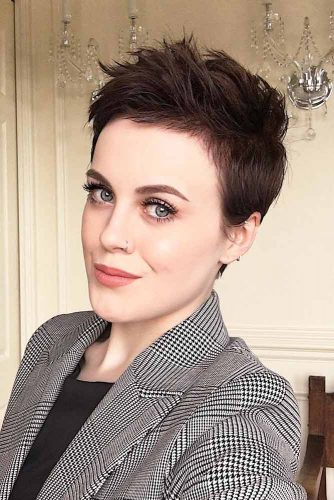 A Really Trendy Short Hairstyle