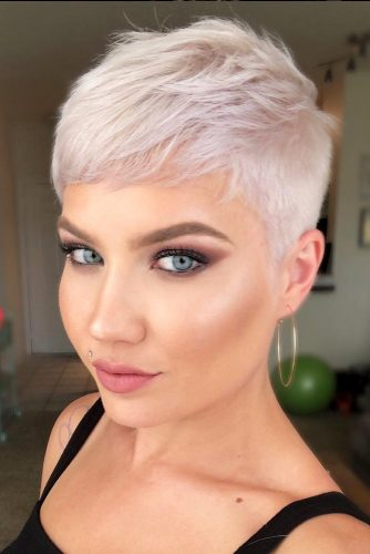 A Super Short Pixie Hairstyle