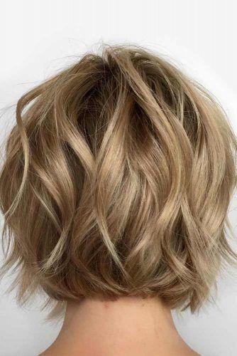 Wavy Bob Haircut #shortwavyhair #wavyhair #shorthair #bobhaircut