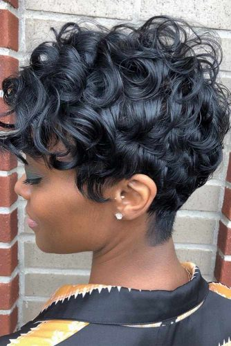 Curly Pixie Weave