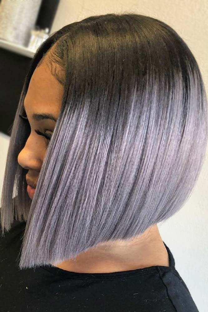 Pastel Colored Bob Weave Hairstyles