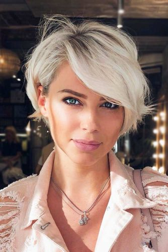 Cool Toned Blonde Haircut  #shorthaircuts #shorthaircutsforgirls #haircuts #pixiebob #blondehair