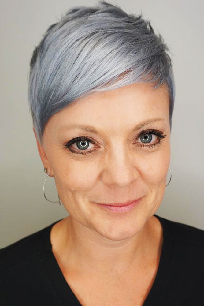Cropped Pixie #bangs #pixie