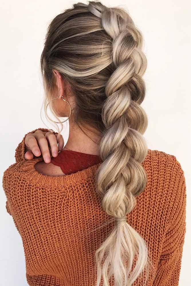 Dutch Mohawk Braid #braids #mohawk