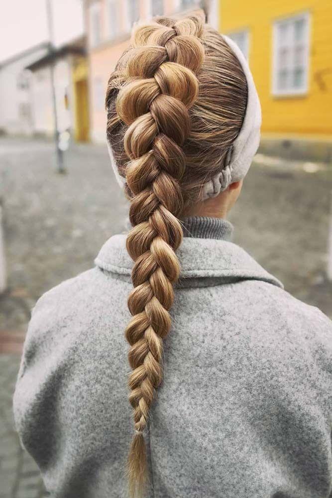 Tight Dutch Braid Mohawk #braids #mohawkbraid