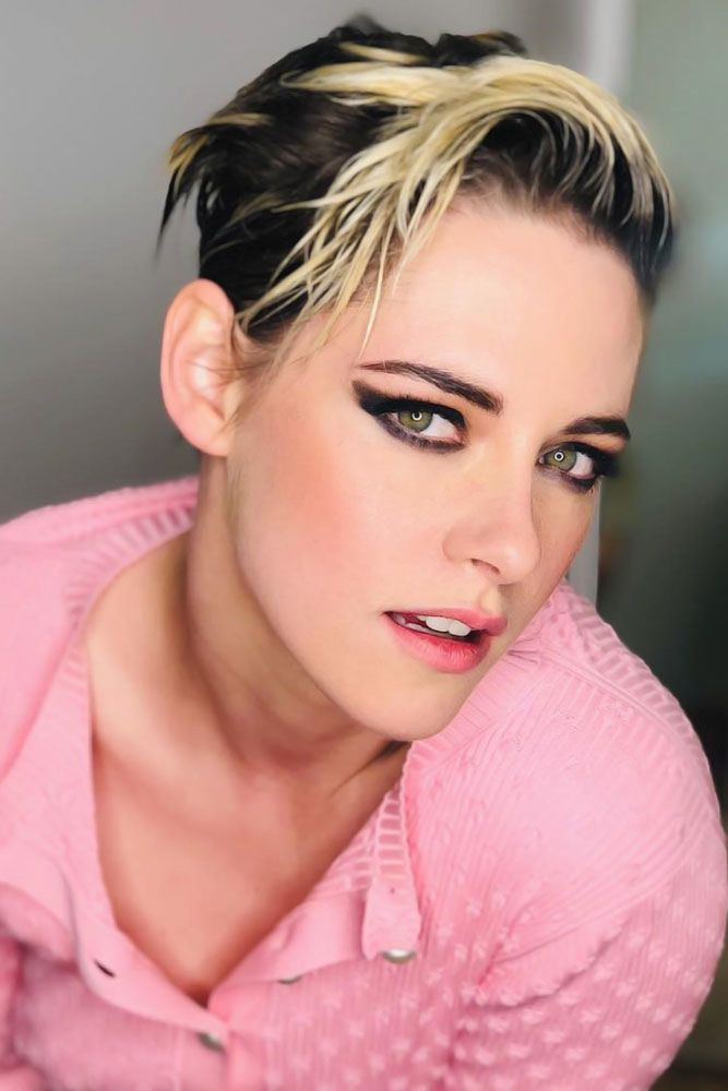 Wet Hair Pixie Styling #faceshapehairstyles #diamondfaceshape