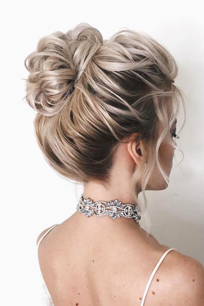 High Voluminous Bun #hairbun #shorthair #bunhairstyles #hairstyles