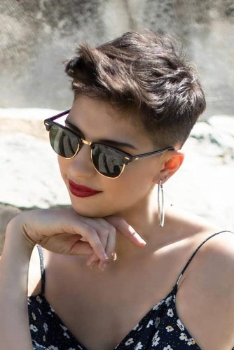 Short Pixie With Punky Bangs #shorthairstyles #shorthair #hairstyles #pixiehaircut #shortpixie