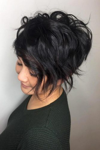 Wavy Shaggy Pixie #shorthairstyles #shorthair #hairstyles #pixiehaircut #longpixie