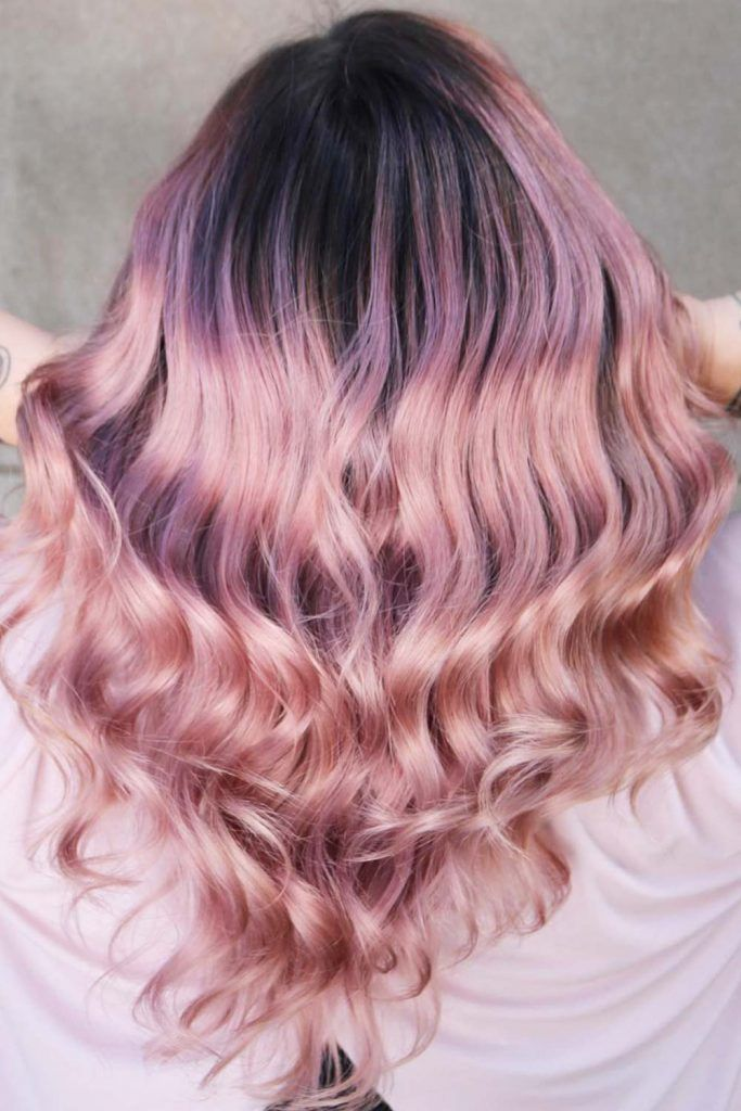 Pastel Pink Ombre #pinkhair #pastelpinkhair