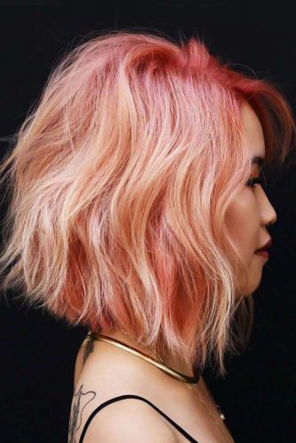 Lived In Coral #pinkhair