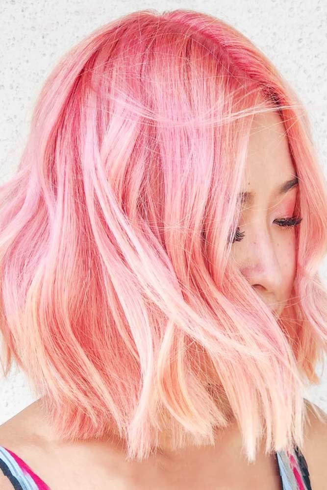 Light Pink Ombre #pinkhair #ombre