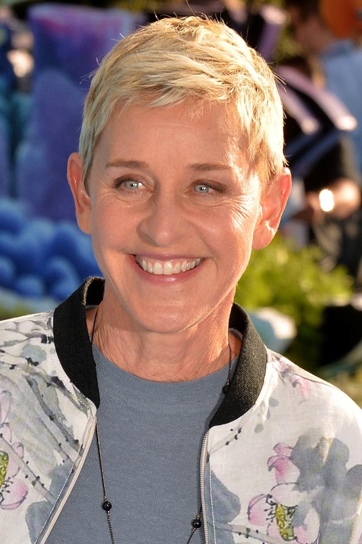 Ellen DeGeneres Pixie Haircut
