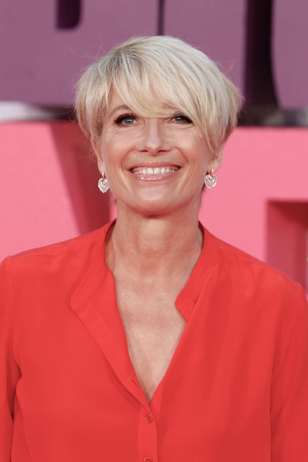 Emma Thompson Pixie Haircut