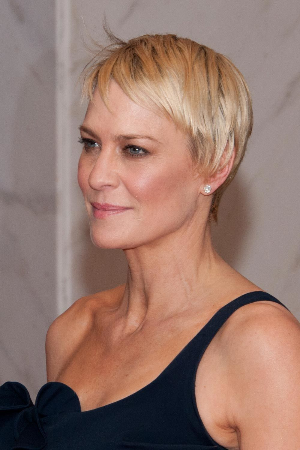 Robin Wright Pixie Haircut