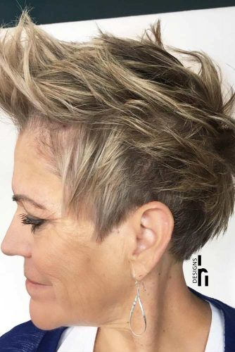 Layered Messy Pixie #pixie #layeredhair