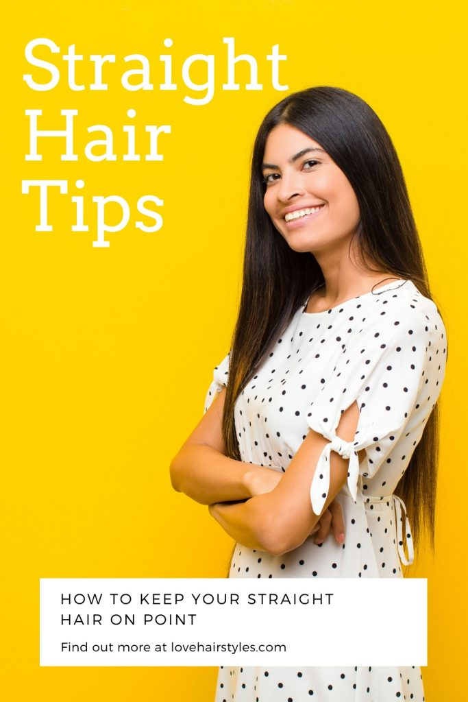 Straight Hair Tips