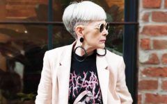Glamorous Bang Hairstyles For Older Women That Will Beat Your Age