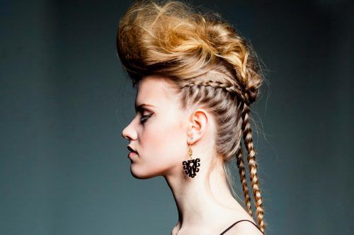 Braided Mohawk: Women Give A New Definition Of The Punky Trend