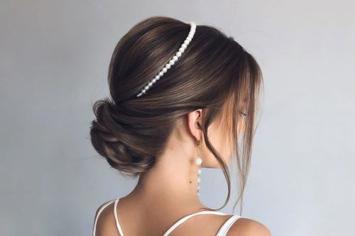 Super Trendy Wedding Updos For Long Hair