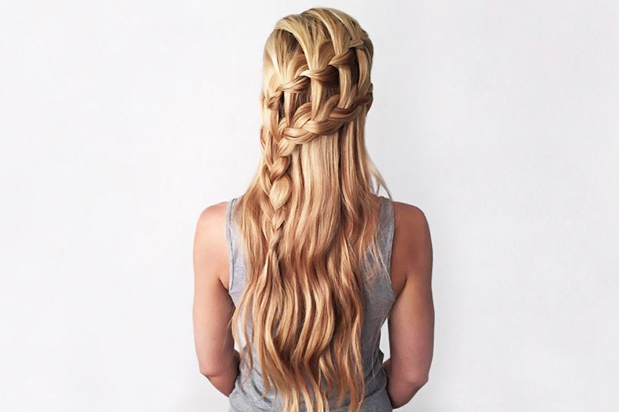 Creative Ways To Style Two French Braids