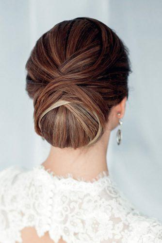 A Classy Low Bun #weddingupdo #weddinghair #lowbun #classichairstyles