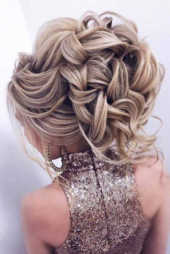 Voluminous Waves #weddingupdo #weddinghair #hairstyles #updohairstyles