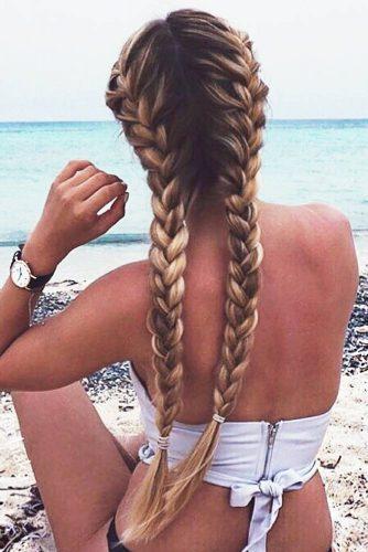 Holiday Braids Styles #longhair #blondehair #balayage #braids