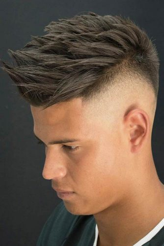 Spiky Top With Undercut #undercut #undercutfade #spikyhair