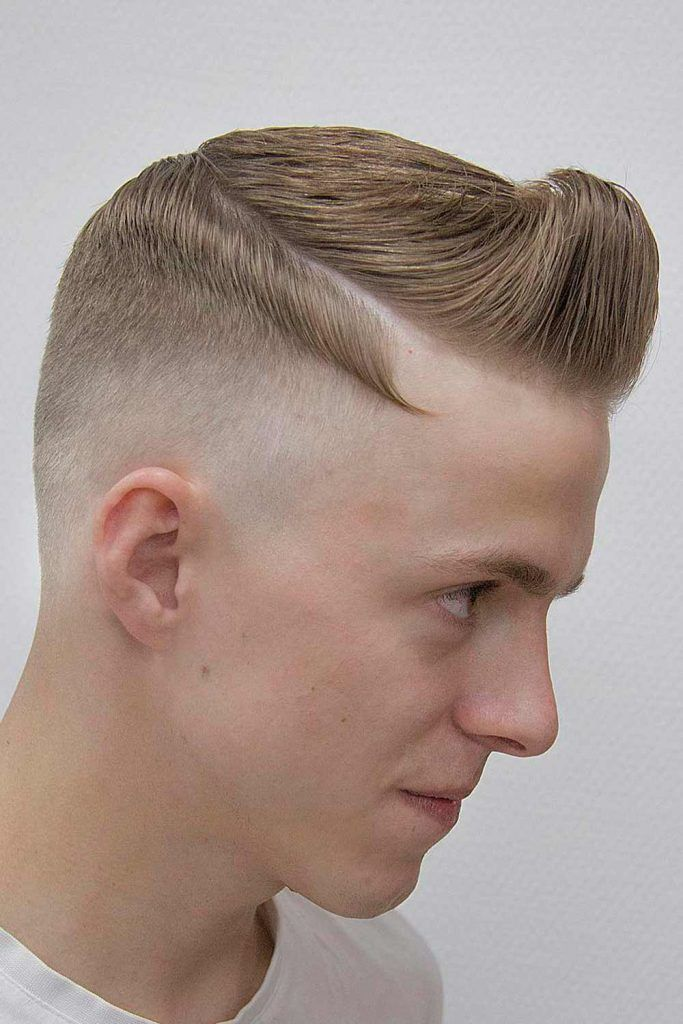 Undercut With Disconnected Hairline