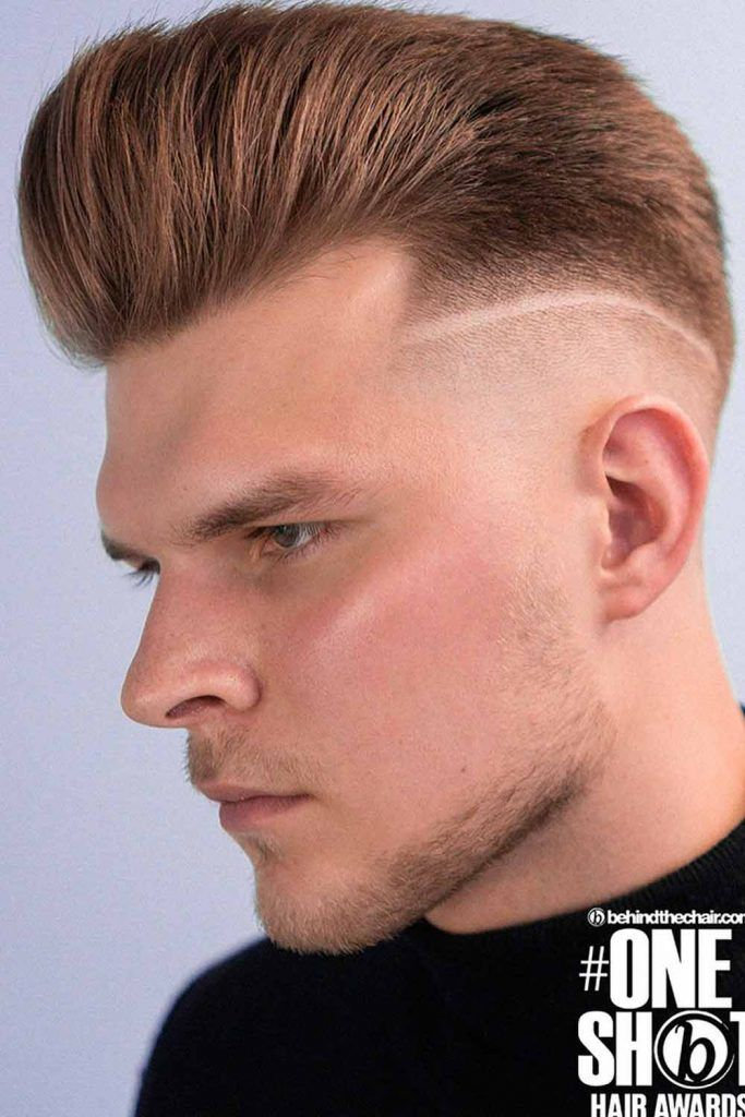 Undercut With Pompadour