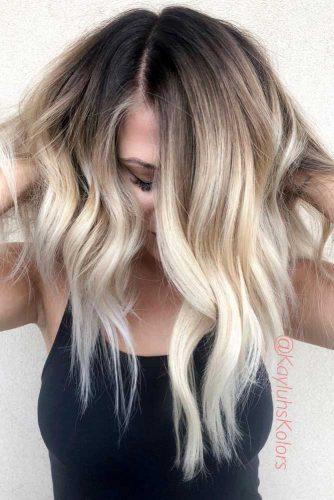 Asymmetrical A line Wavy Long Haircut #asymmetricalhaircut #haicuts #longhair