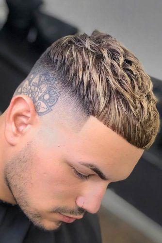 Ceasar Haircut #fadehaircut #baldfade #skinfade #haircuts #menhaircuts