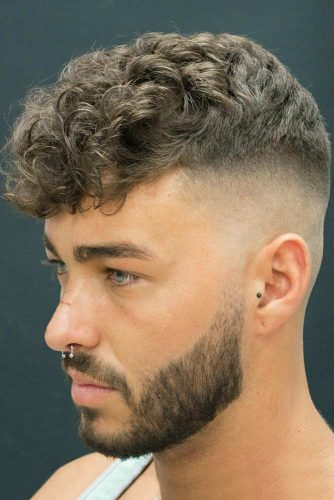 How To Get A High Skin Fade #fadehaircut #highfade #curlytop