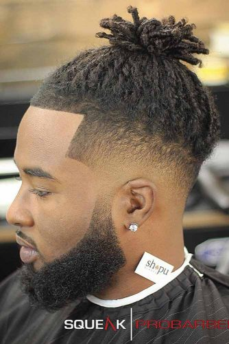 Skin Fade Haircut With Dreadlocks #menshaircuts #fadehaircut #skinfade #dreadlocks
