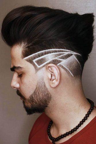 Skin Fade Hair Tattoo #fadehaircut #baldfade #skinfade #haircuts #menhaircuts
