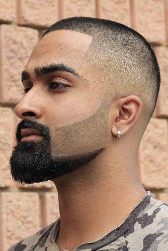Buzz Cut Fade Combo #fadehaircut #buzzcut #highfade #beardstyles